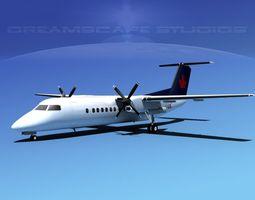 DeHavilland DHC-8-Q300 Air BC 3D