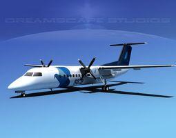 3D model DeHavilland DHC-8-Q300 SATA Air