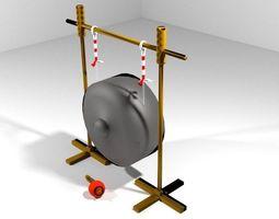 3D model Musical Instrument Gong
