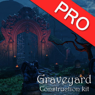 graveyard pack 3d model max obj mtl fbx tga 1
