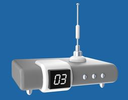 3d cartoony electronic device