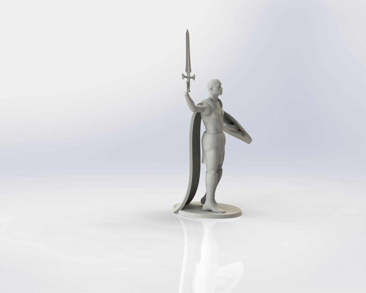 Scotland Warrior in Kilt