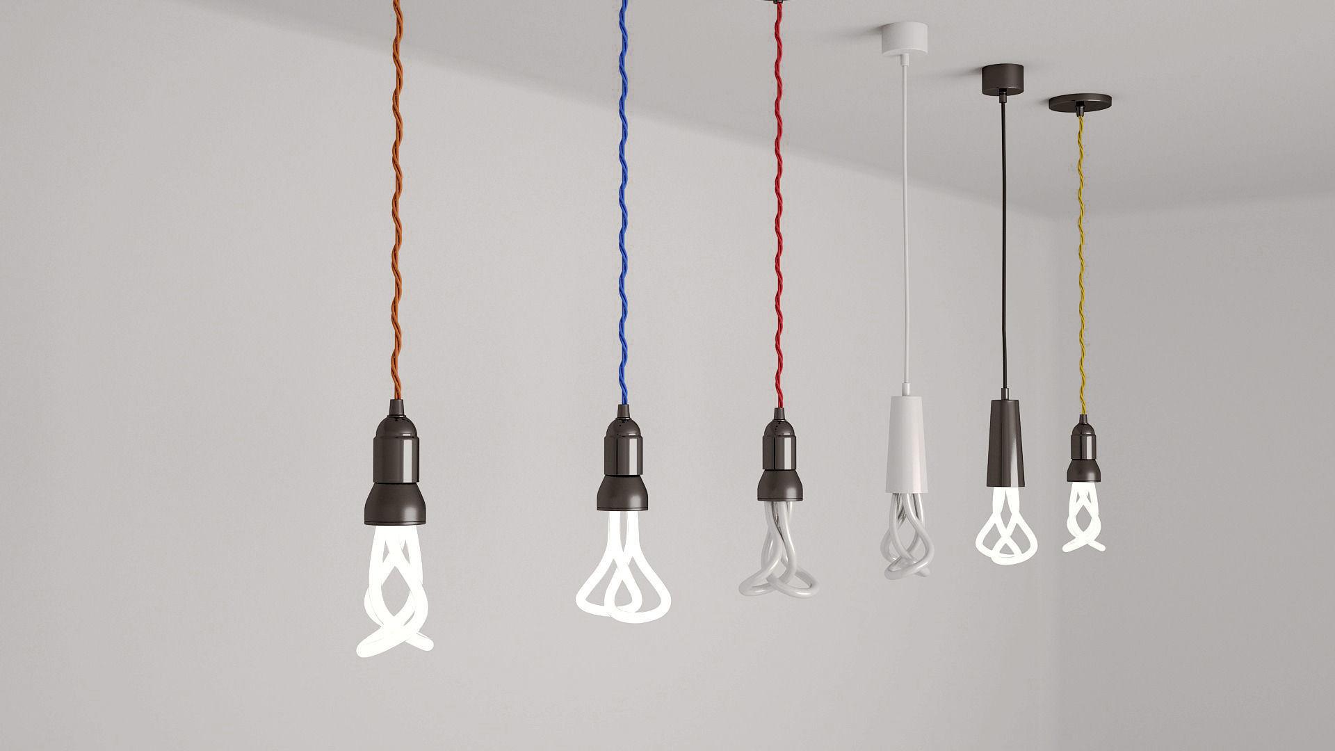 pendant light bulbs 3d model max obj fbx 1 ...  sc 1 st  CGTrader.com & 3D model Pendant Light bulbs | CGTrader azcodes.com