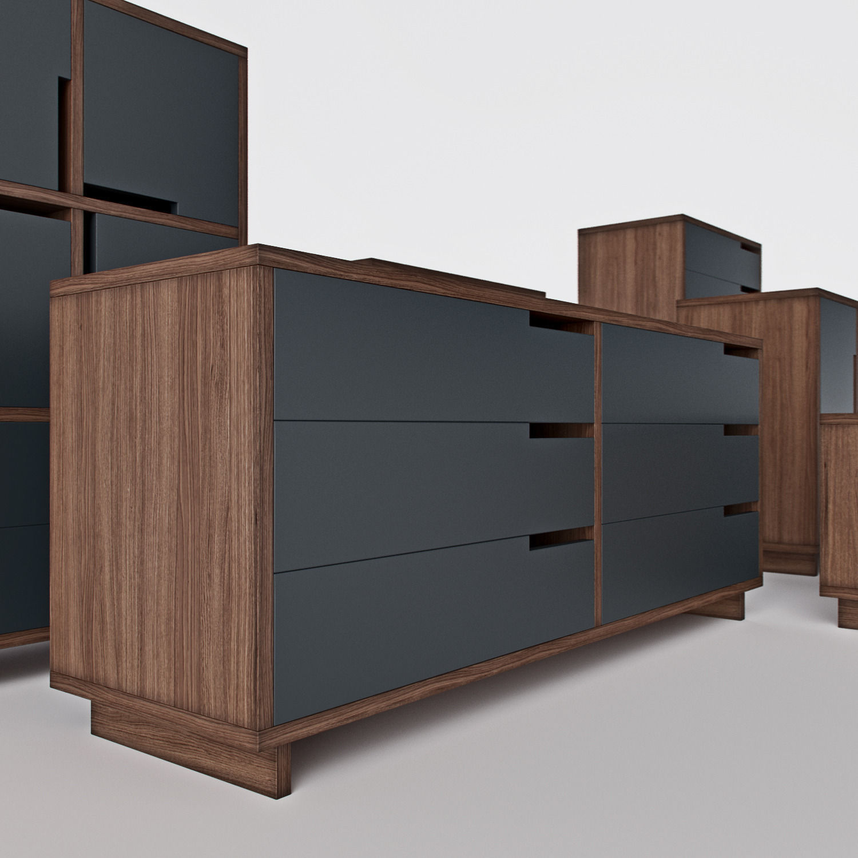Elegant ... Blu Dot   Modu Licious 3d Model Max Fbx 6 ... Home Design Ideas