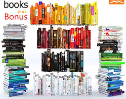 202 books plus bonus 3d model