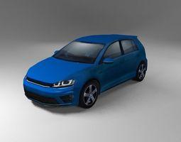 3D model German Hatchback R Generic 2015
