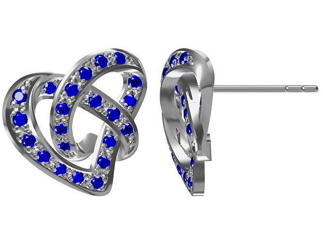diamond earrings model - photo #43