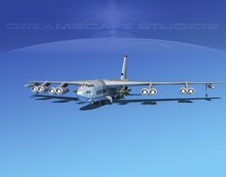 Boeing B-52G Stratofortress V01 3D