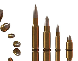 3d model bullets game-ready