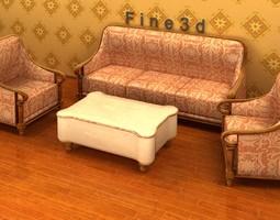 3d model 04-combination sofa-029