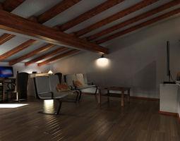 3d model mr attic 01