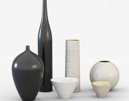 3d model ornamental vases