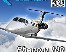 3D model Embraer Phenom 100 Jet