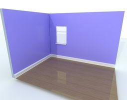 Corner scene 3D model