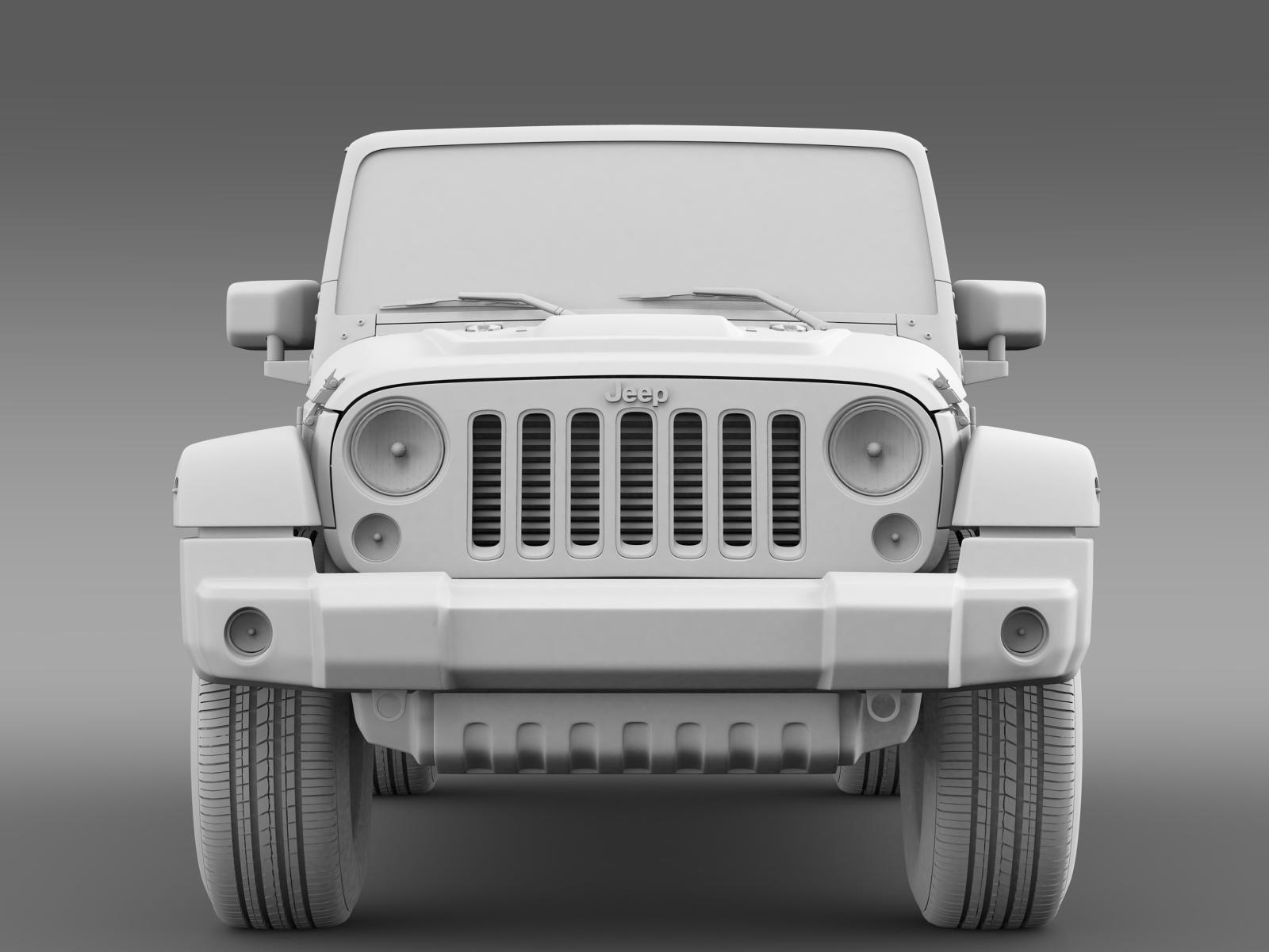 jeep wrangler black edition 2 2015 3d model max obj 3ds fbx c4d lwo lw lws