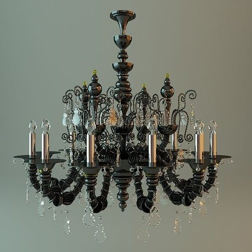 3D model Antique Chandelier | CGTrader