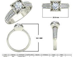 Jewelry 3D CAD STL Files- VJR106