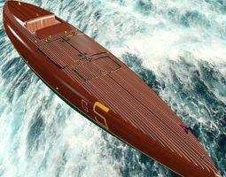 3D model Baby Bootlegger G5 Hull Only