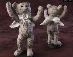 bear angel-2 3d
