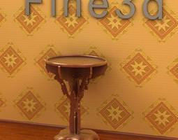 3d antique table-09om-015c