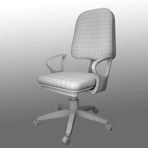 Office Chair Model Max Obj Mtl S Fbx C4d Ma Mb 6