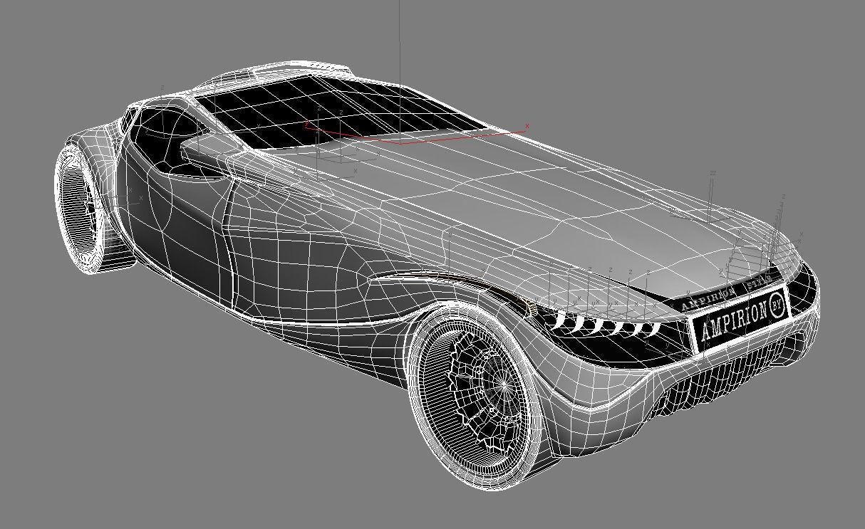 Design my car -  My Car Design 3d Model Max Obj 3ds Mtl 5