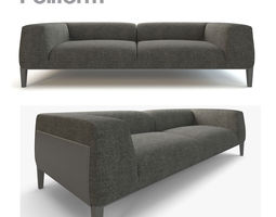 Sofa Metropolitan By Poliform 3D model