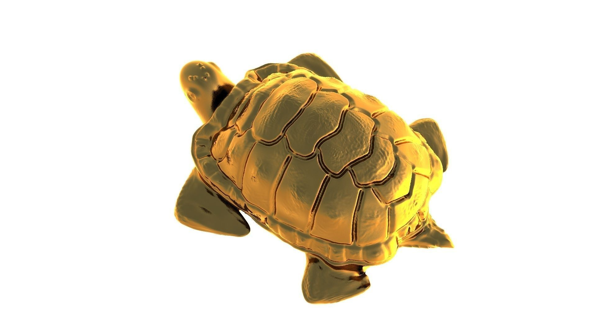 turtle 3d print 3d model 3d printable obj stl