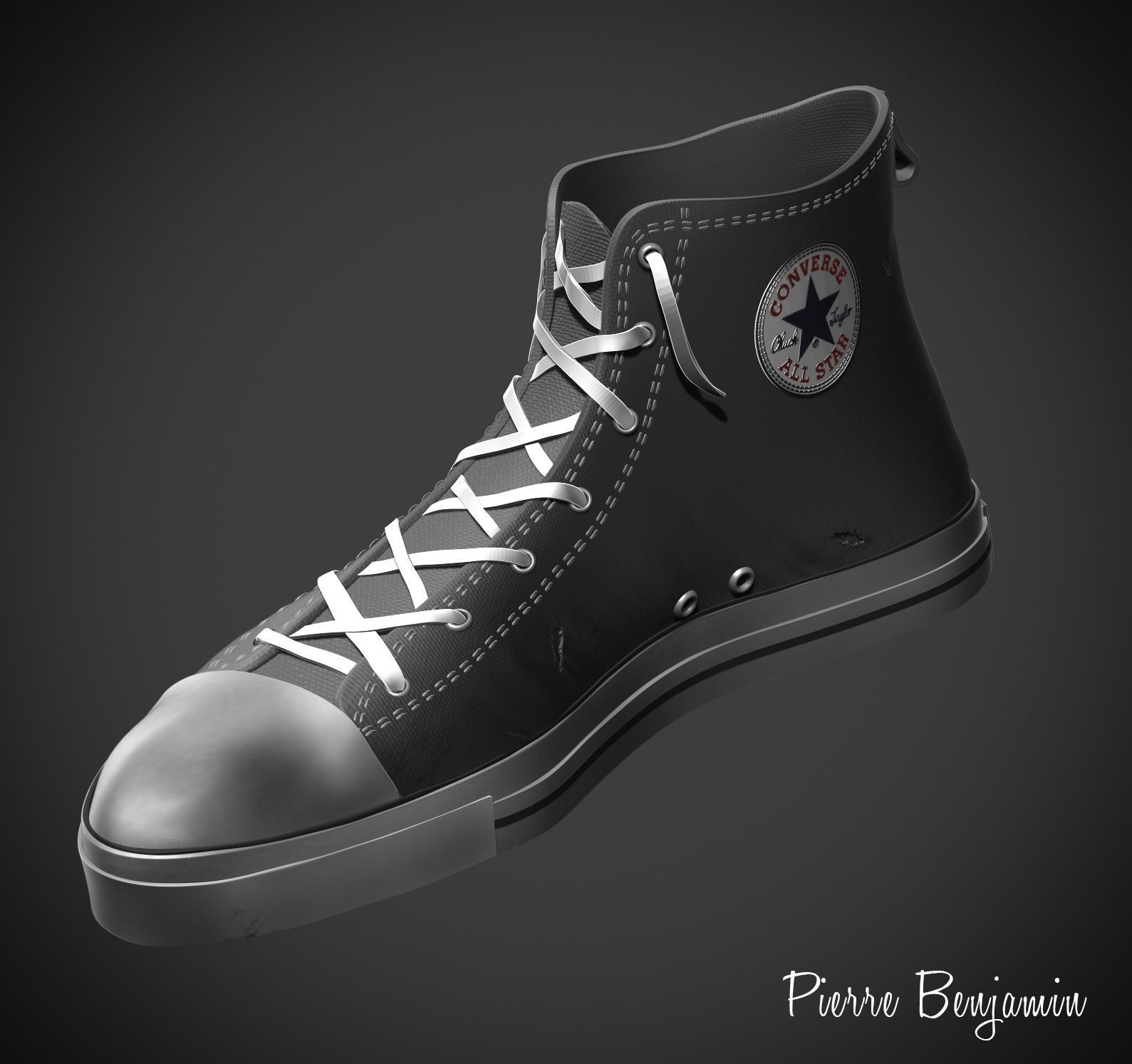 3D Model Converse All Stars Shoes