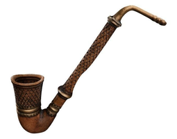 3d model VR / AR ready hobbit pipe