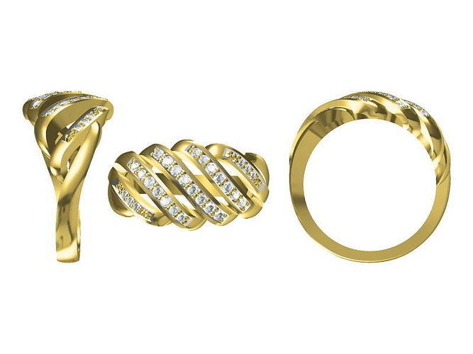 golden ring 1811 3d model jcad jcd 1