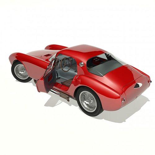 1953 maserati a6 gcs 53 pininfarina berlin... 3d model max 10
