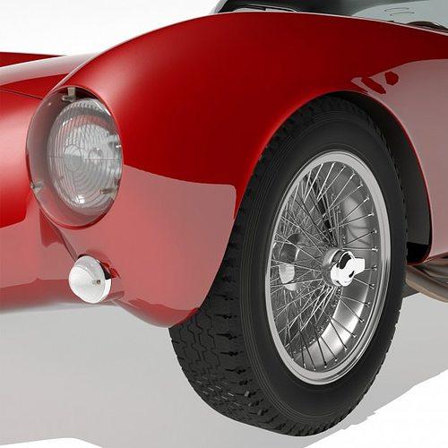 1953 maserati a6 gcs 53 pininfarina berlin... 3d model max 3