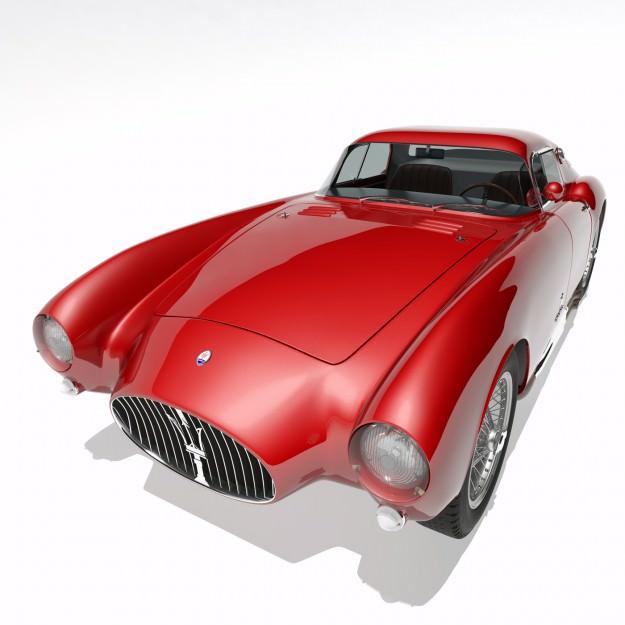 1953 Maserati A6 GCS 53 Pininfarina Berlinetta