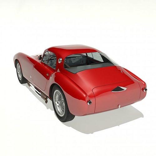 1953 maserati a6 gcs 53 pininfarina berlin... 3d model max 8