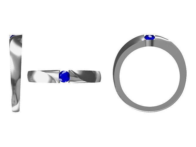 diamond ring 1698 3d model jcad jcd 1