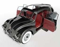 3d model tatra t87