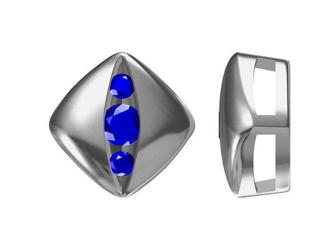 diamond pendant 1716 3d model jcad jcd 1