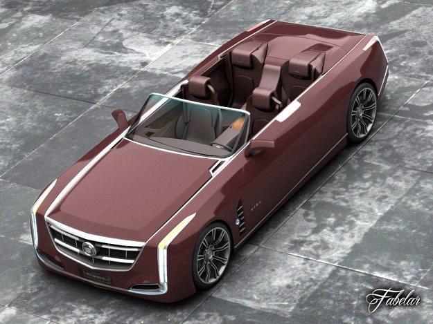 Cadillac Ciel 2 0 3D model  CGTrader