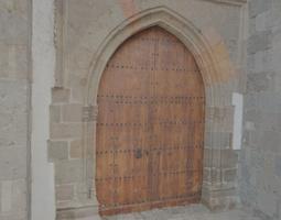 church side door - hd scan 3d model