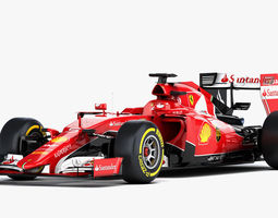 3d model ferrari sf15-t formula 2015