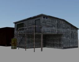 3d model realtime container yard