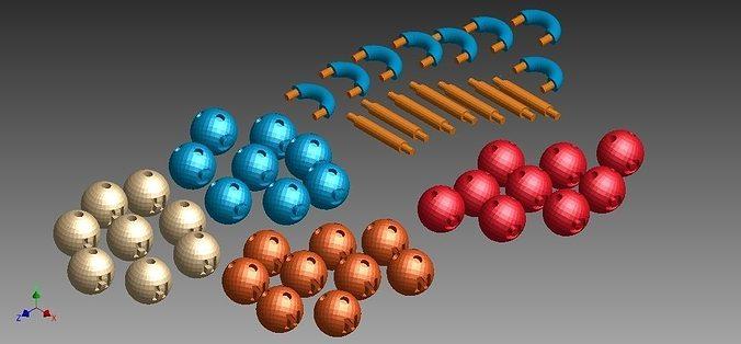 Chemistry Elements Set