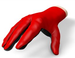 animated 3d model hand ipt fil   autodesk inventor part file for glove design use realtime