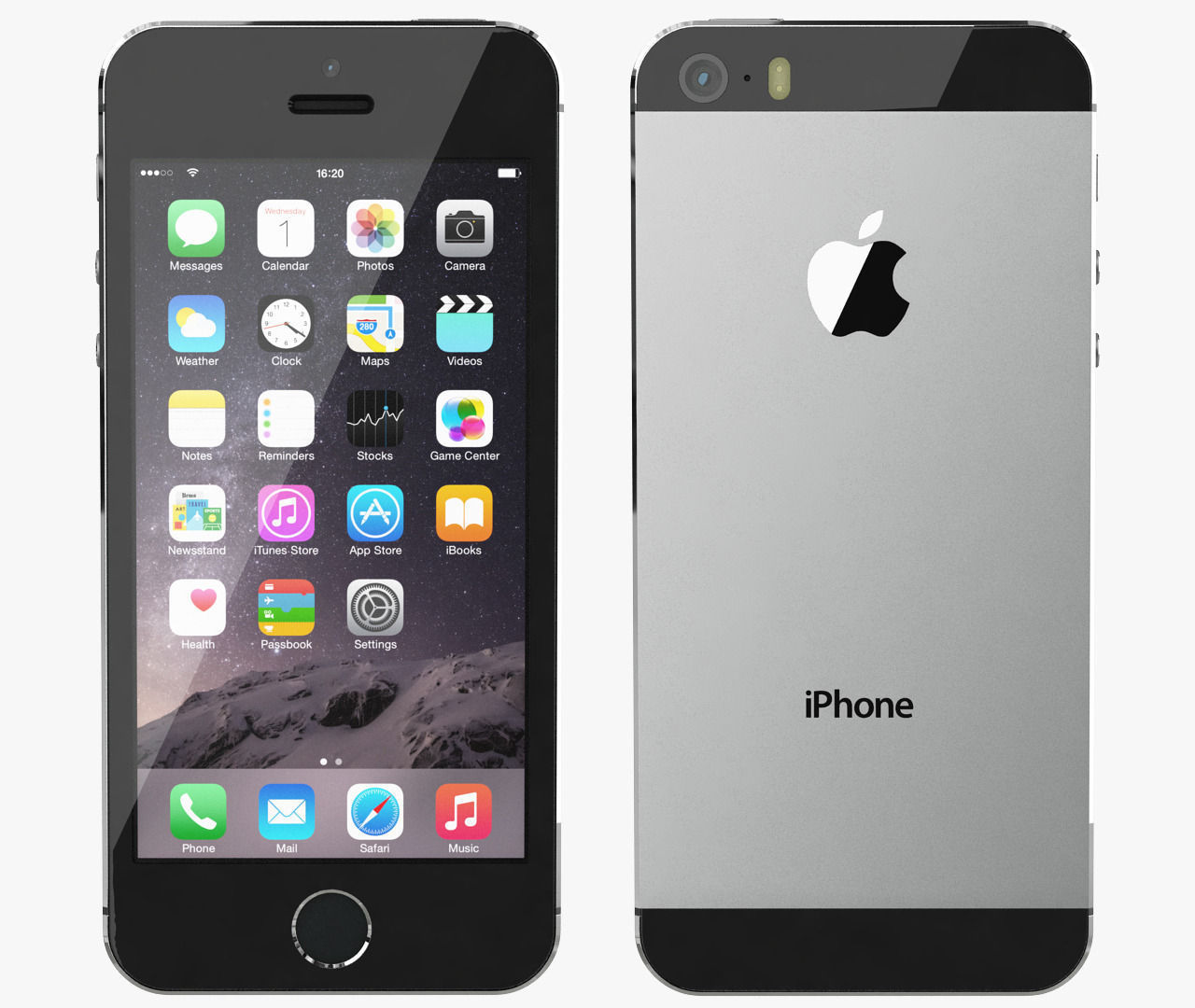 Image Gallery iphone 5s space gray