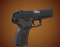 MP 443 Grach Yarygin Pistol 3D model