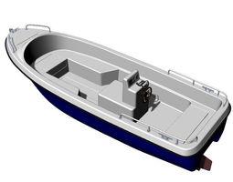 rescue boat 3d