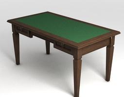 rectangular Table 3D