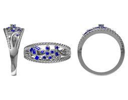 diamond ring 2339 3d model