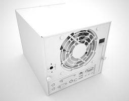 Boks Design Mini Fileserver 3D model
